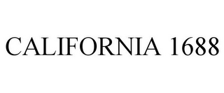 mark for CALIFORNIA 1688, trademark #85583976