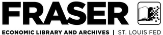 mark for FRASER ECONOMIC LIBRARY AND ARCHIVES  |  ST. LOUIS FED, trademark #85584118