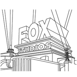 mark for FOX STUDIOS, trademark #85584160