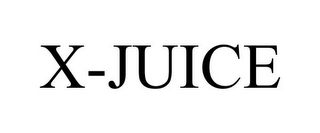 mark for X-JUICE, trademark #85584281