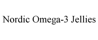 mark for NORDIC OMEGA-3 JELLIES, trademark #85584302
