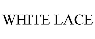 mark for WHITE LACE, trademark #85584410