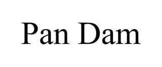 mark for PAN DAM, trademark #85584468