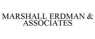mark for MARSHALL ERDMAN & ASSOCIATES, trademark #85584542