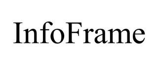 mark for INFOFRAME, trademark #85584642