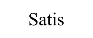 mark for SATIS, trademark #85584749
