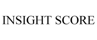 mark for INSIGHT SCORE, trademark #85585067