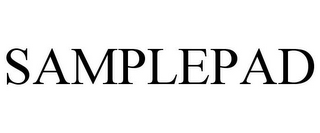 mark for SAMPLEPAD, trademark #85585225