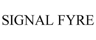 mark for SIGNAL FYRE, trademark #85585722
