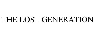 mark for THE LOST GENERATION, trademark #85585936