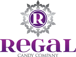 mark for R REGAL CANDY COMPANY, trademark #85585976