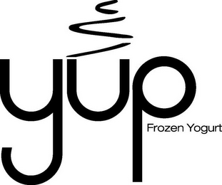 mark for YUP FROZEN YOGURT, trademark #85586284