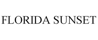 mark for FLORIDA SUNSET, trademark #85586345