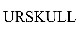 mark for URSKULL, trademark #85586362