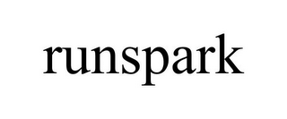 mark for RUNSPARK, trademark #85586388