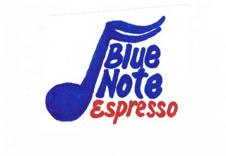 mark for BLUE NOTE ESPRESSO, trademark #85586842