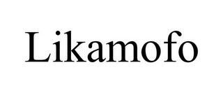 mark for LIKAMOFO, trademark #85586859