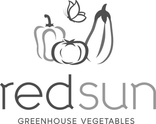 mark for RED SUN GREENHOUSE VEGETABLES, trademark #85587281