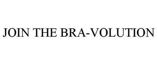 mark for JOIN THE BRA-VOLUTION, trademark #85587286