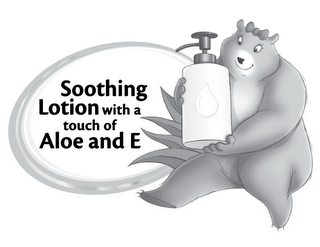 mark for SOOTHING LOTION WITH A TOUCH OF ALOE AND E, trademark #85587428