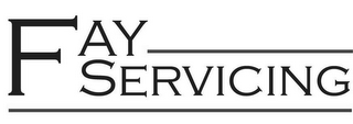 mark for FAY SERVICING, trademark #85587610