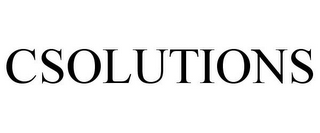 mark for CSOLUTIONS, trademark #85587740