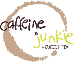 mark for CAFFEINE JUNKIE & SWEET FIX, trademark #85587953