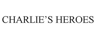 mark for CHARLIE'S HEROES, trademark #85587971