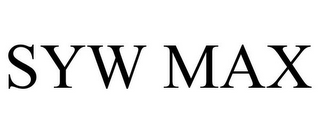 mark for SYW MAX, trademark #85588089