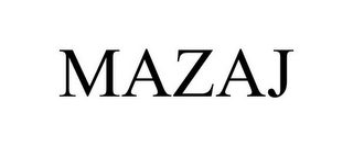 mark for MAZAJ, trademark #85588251