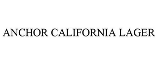 mark for ANCHOR CALIFORNIA LAGER, trademark #85588292