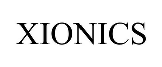 mark for XIONICS, trademark #85588357