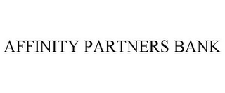 mark for AFFINITY PARTNERS BANK, trademark #85588362