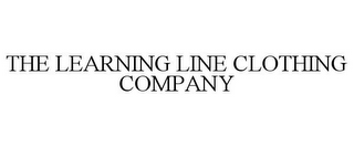 mark for THE LEARNING LINE CLOTHING COMPANY, trademark #85588465