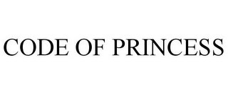 mark for CODE OF PRINCESS, trademark #85588486