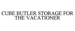 mark for CUBE BUTLER STORAGE FOR THE VACATIONER, trademark #85588644