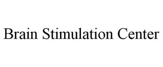 mark for BRAIN STIMULATION CENTER, trademark #85588733