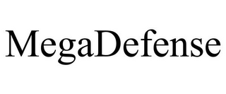 mark for MEGADEFENSE, trademark #85588786