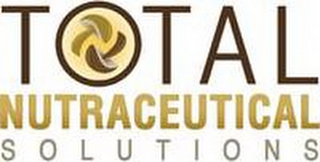 mark for TOTAL NUTRACEUTICAL S O L U T I O N S, trademark #85588838