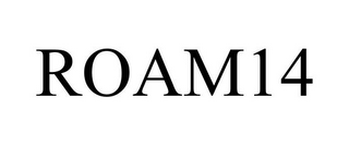 mark for ROAM14, trademark #85589023