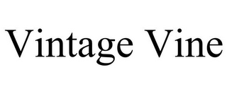 mark for VINTAGE VINE, trademark #85589338