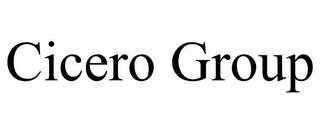 mark for CICERO GROUP, trademark #85589525