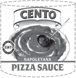 mark for CENTO NAPOLETANA PIZZA SAUCE C CENTO TRUST YOUR FAMILY WITH OUR FAMILY, trademark #85589690