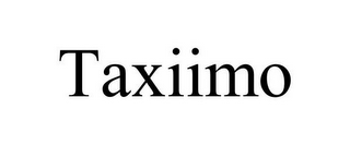 mark for TAXIIMO, trademark #85590371