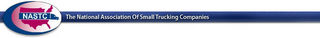 mark for NASTC THE NATIONAL ASSOCIATION OF SMALL TRUCKING COMPANIES, trademark #85590403