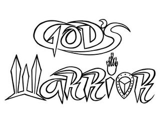 mark for GOD'S WARRIOR, trademark #85590431