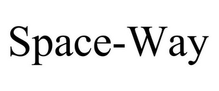mark for SPACE-WAY, trademark #85590577