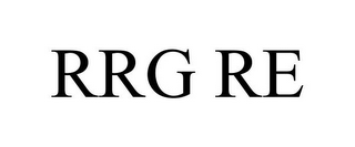mark for RRG RE, trademark #85590713