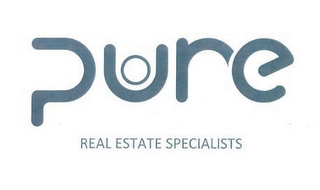 mark for PURE REAL ESTATE SPECIALISTS, trademark #85590721