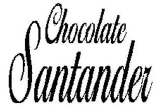mark for CHOCOLATE SANTANDER, trademark #85591322